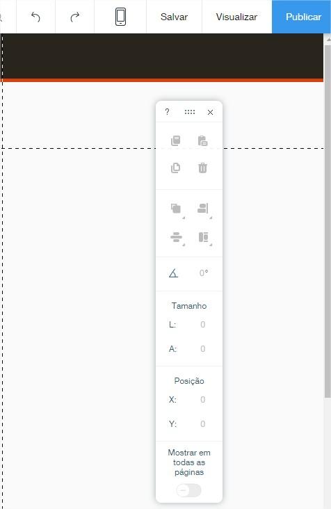 editor construtor de sites ferramentas