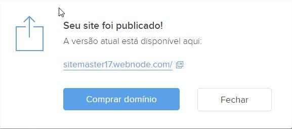 publicar site