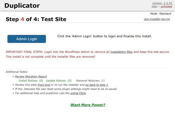 Atualize os dados do site e teste o site ao vivo2